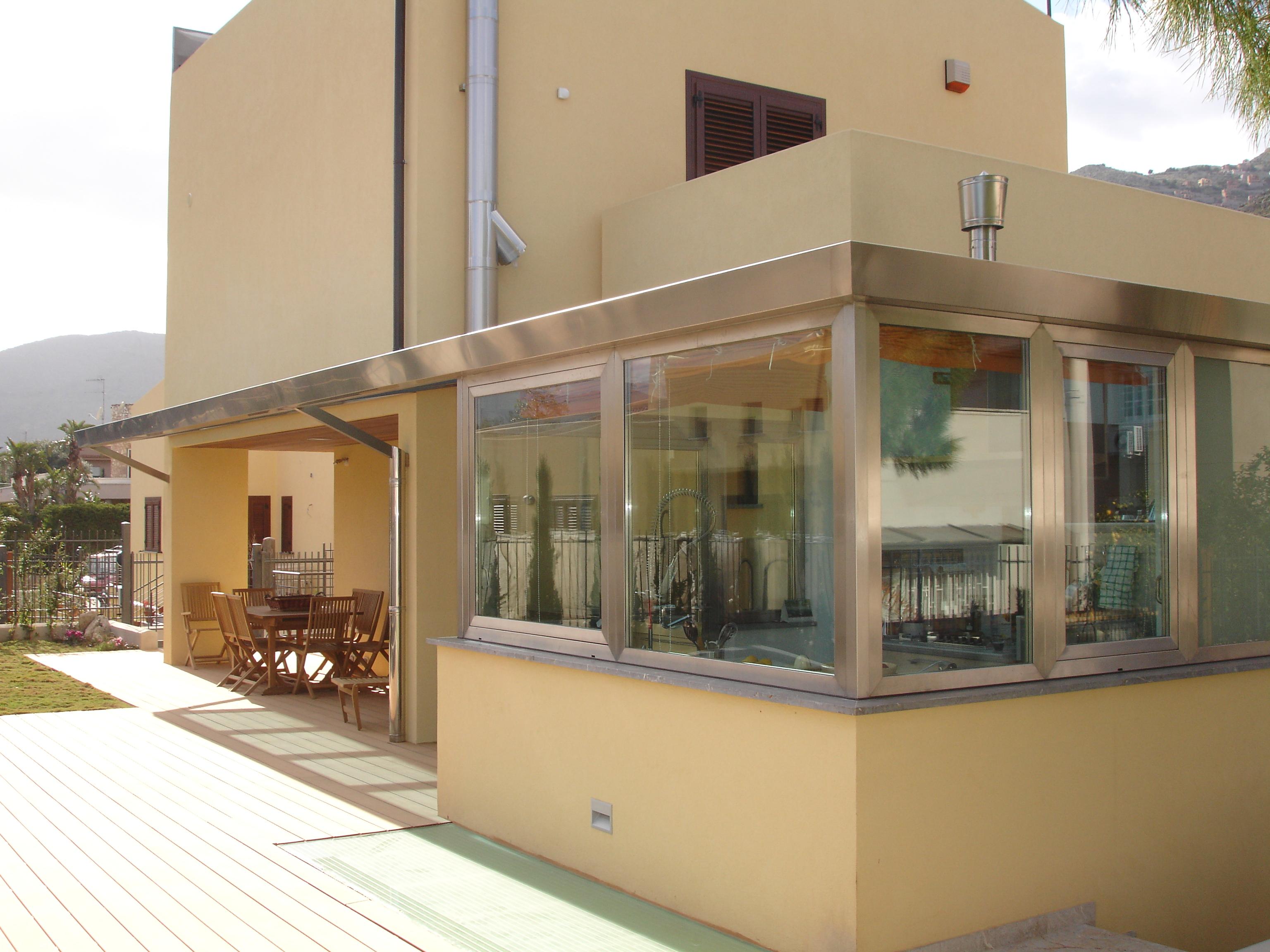 Progetto veranda great luintero progetto abitativo for Casa piani veranda anteriore